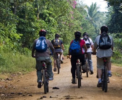 Community-Based Ecotourism in Chi Phat - Mountain biking