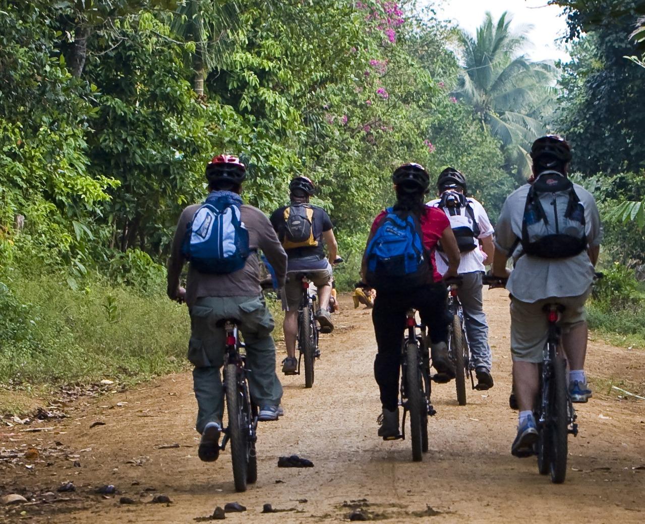 Community-Based Ecotourism in Chi Phat - Mountain biking