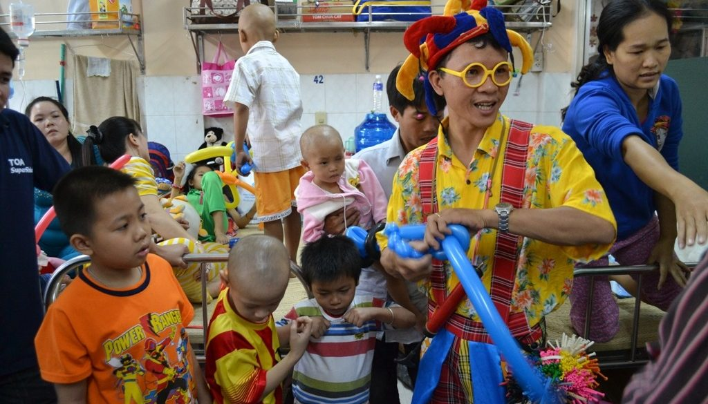 clown hospital