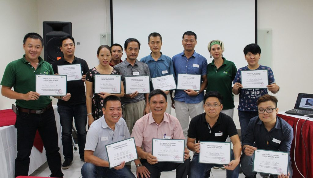 Guide training Hanoi 2017