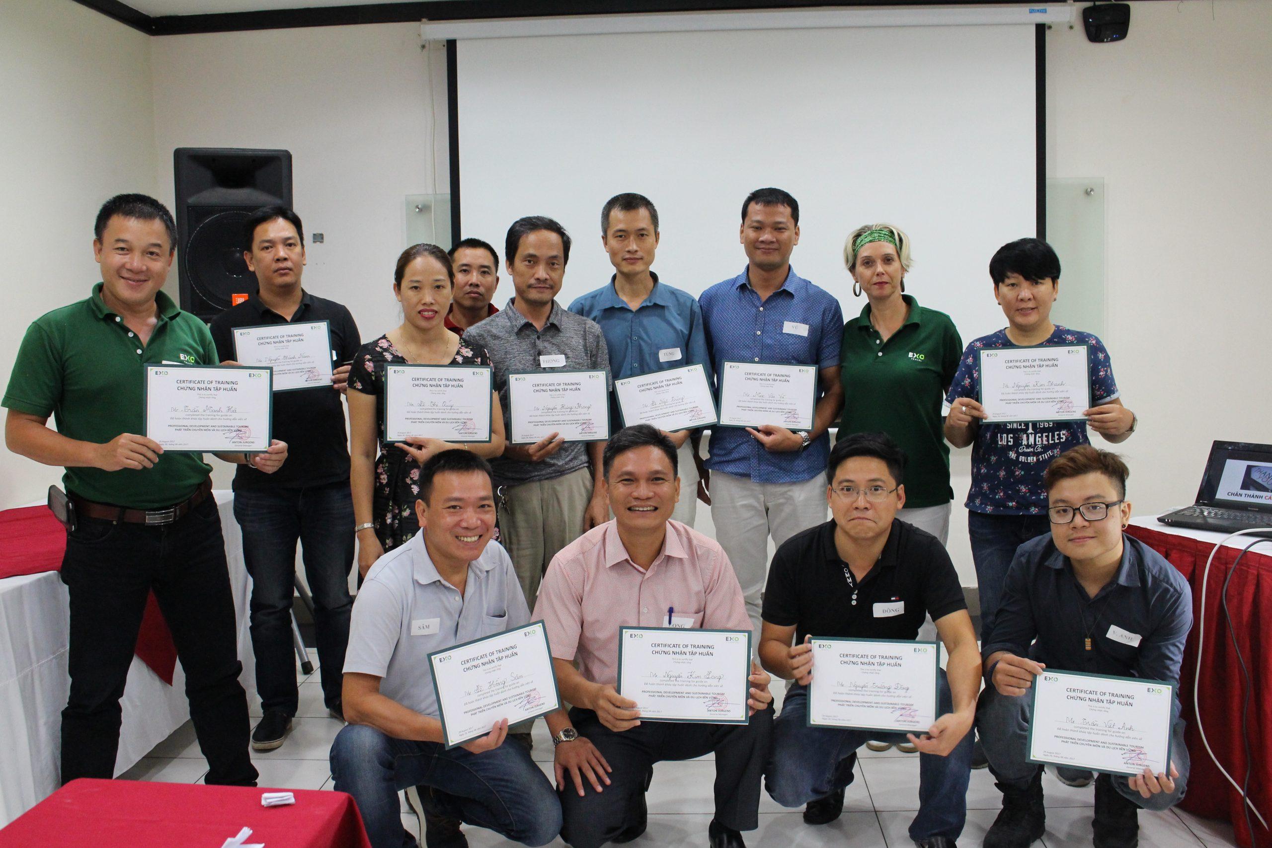 Guide training Hanoi 2017