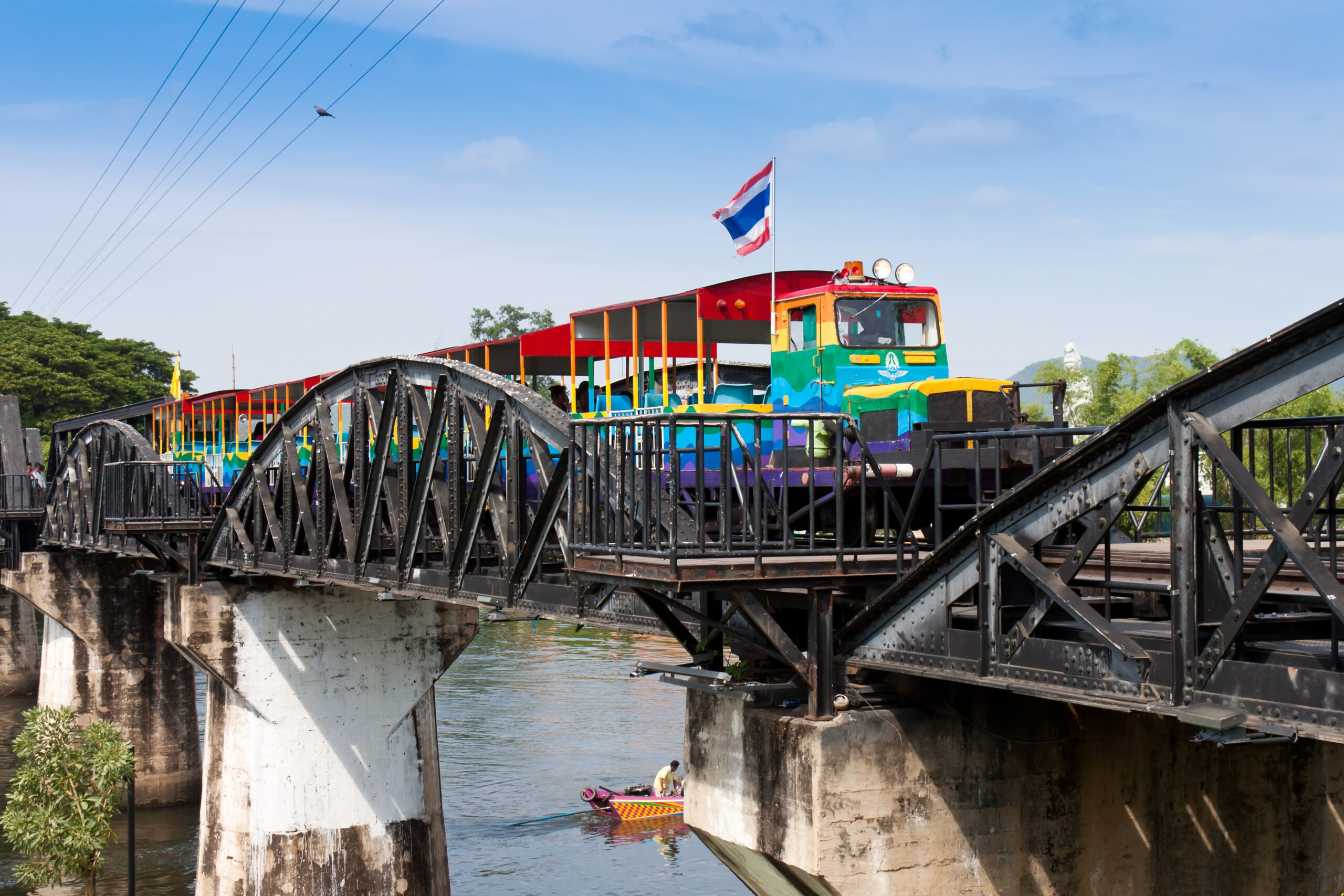 Thailand-Central-Thailand-Kanchanaburi-Transportation-Train-Tracks(2)