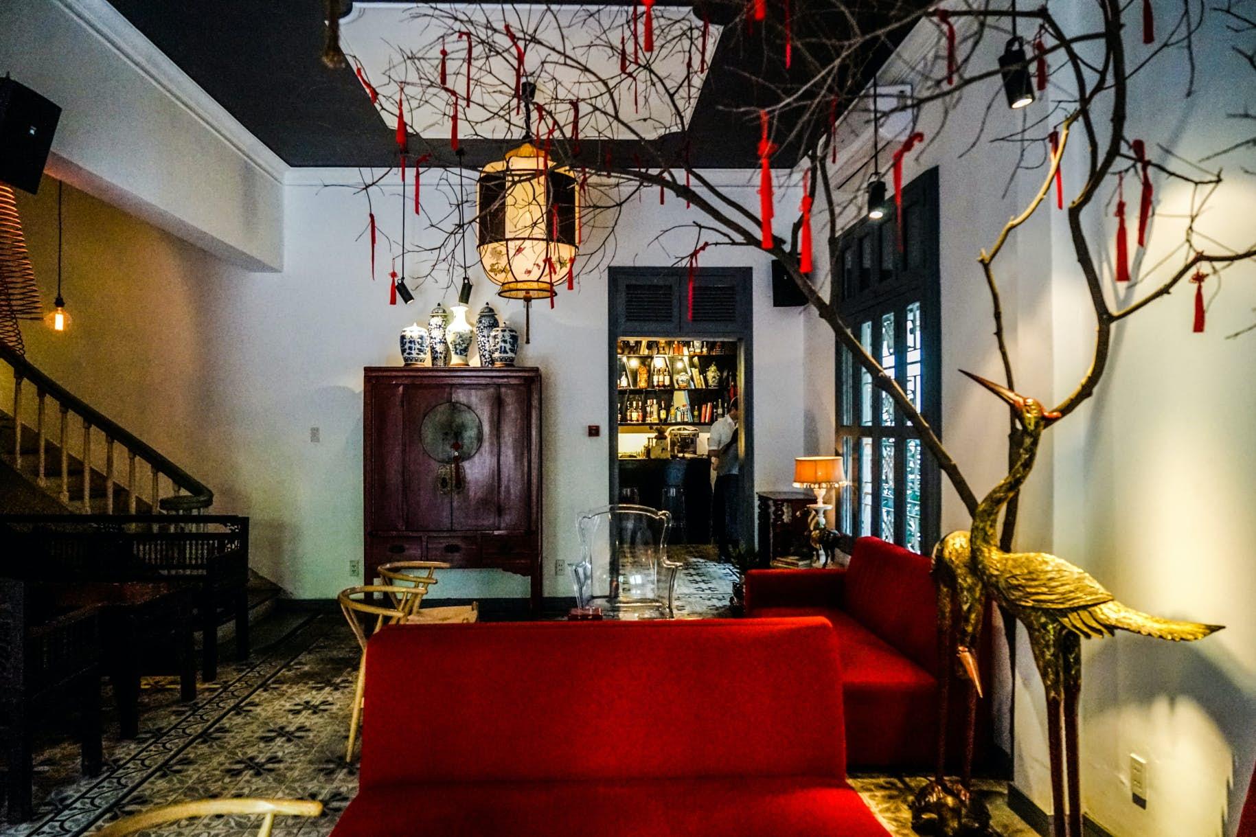 VIETNAM - Ho Chi Minh - Noir Dining in the dark